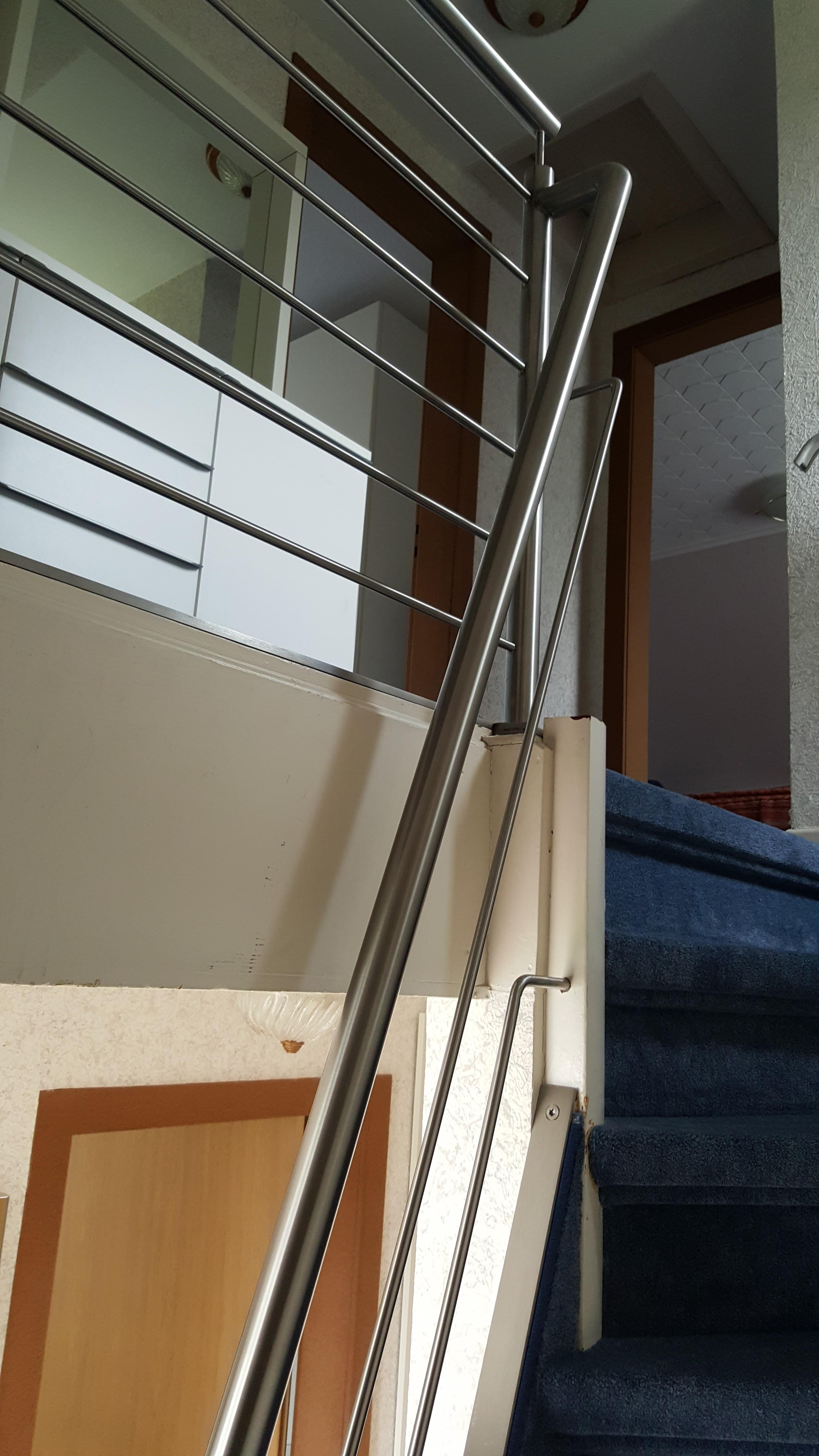 metallbau wuppertal gel nder edelstahlgel nder f r steile treppen. Black Bedroom Furniture Sets. Home Design Ideas